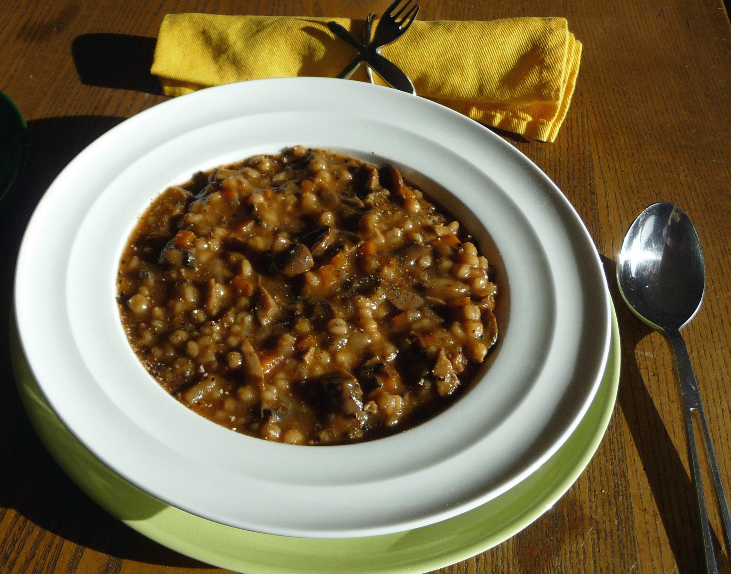 Mushroom Barley Soup Smitten Kitchen